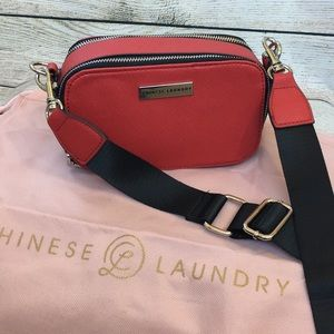 CL Chinese Laundry red box purse small crossbody